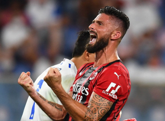 AC Milan is sick! Giroud tests positive for Covid-19